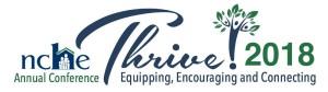 NCHE Thrive 2018