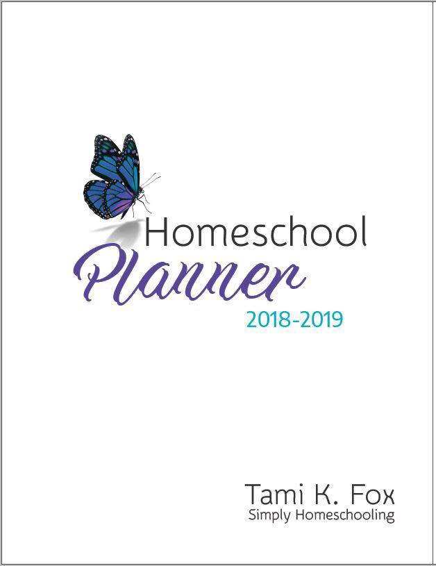 2018-2019 Homeschool Planner Download