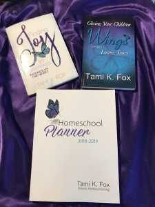 Homeschool Planner Joy Wings